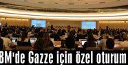 Gazze için özel oturum