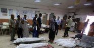 Gazze'de 100'den fazla ceset hastanelere getirildi...
