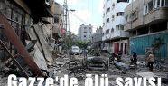 Gazze'de ölü sayısı 1045'e yükseldi