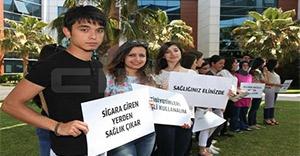 Gediz Üniversitesi öğrencilerinden halk sağlığı kampanyası