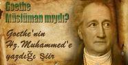Goethe Müslüman mıydı?
