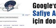 Google'dan Safiye Ayla için doodle
