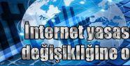 Gül; İnternet yasasını onayladı