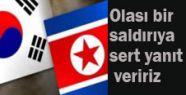 Güney Kore'den Sert Tepki