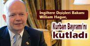 Hague Kurban Bayramı'nı kutladı