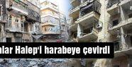 Halep toz duman...