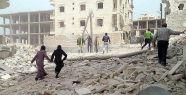 Halep'te varil bombalalı saldırı...