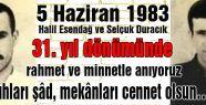 Halil Esendağ ve Selçuk Duracık...