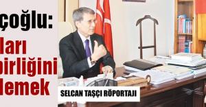 Hallaçoğlu: Amaçları Türk birliğini engellemek