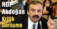 HDP Akdoğan Kritik görüşme...