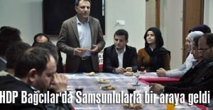 HDP Bağcılar'da Samsunlularla bir araya geldi