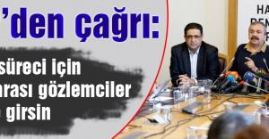 HDP'den Çağrı