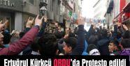 HDP Eş Başkanı Kürkçü Karadeniz'de Protesto edildi