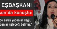 HDP Eş Başkanı Samsun'da Konuştu...