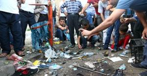 HDP Mitinginde çöp kutusunda parça tesirli bomba patladı