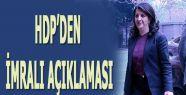 HDP'den İmralı açıklaması...