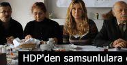 HDP'den samsunlulara öneri
