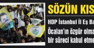 HDP'li Başkan nihai noktayı koydu...