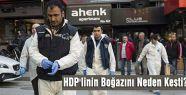 HDP'linin Boğazını Neden Kesti?