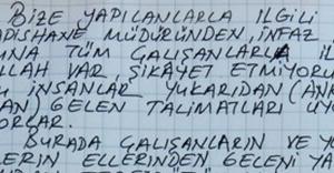 Hidayet Karaca'dan mektup...