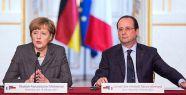 Hollande ve Merkel Putin ile görüştü