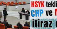 HSYK teklifine muhalefet itirazı