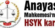 HSYK'dan kritik Karar...