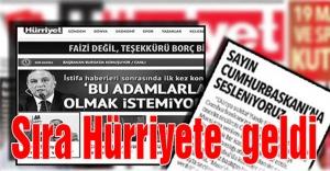 Hürriyet'e suç duyurusu ve tutuklama talebi