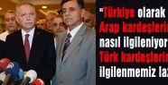 İhsanoğlu, Irak'lı Türkmenler ile görüştü