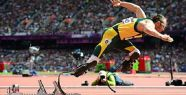 İki bacağı olmayan Pistorius yarı finalde