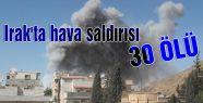 Irak'ta hava saldırısı