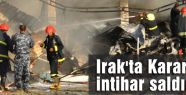 Irak'ta Karargaha intihar saldırısı