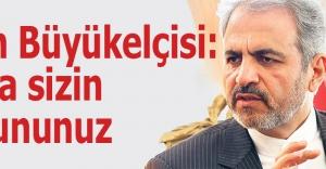 İran Büyükelçisi: Reza sizin sorununuz