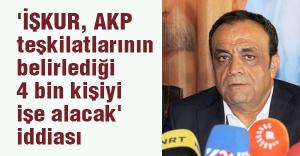 'İŞKUR, AKP'nin belirlediği 4 bin kişiyi işe alacak' iddiası