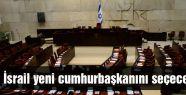 İsrail yeni cumhurbaşkanını seçecek
