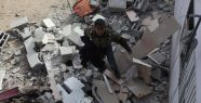İsrail'den Gazze'ye hava saldırısı...