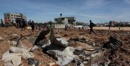 İsrail'den Gazze'ye hava saldırısı yapıldı