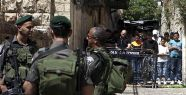 İsrail'den Mescid-i Aksa'ya girişe sınırlama...