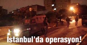İstanbul'da Helikopteer destekli operasyon