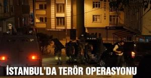 İstanbul'da terör operasyonu düzenlendi