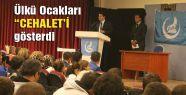 İstanbul Ülkü Ocaklarından 'Cehalet' Gösterisi