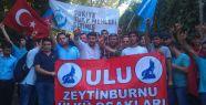 İstanbul Ülkü Ocakları'nın  Çin Protestosu