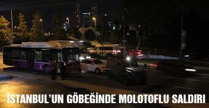 İstanbul'un göbeğinde molotoflu saldırı