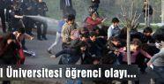 İstanbul Üniversitesi öğrenci olayı...