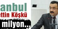 İstanbul Vadettin Köşkü 172 milyon...