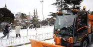 İstanbul'da kar yağışı etkisini azaltacak