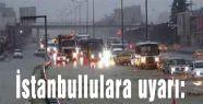 İstanbullulara uyarı:Yağış Geliyor