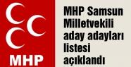 İşte Samsun MHP Aday Adayları