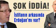 İstifanın arkasında Erdoğan mı var?