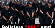 izindeki polisler göreve çağrıldı